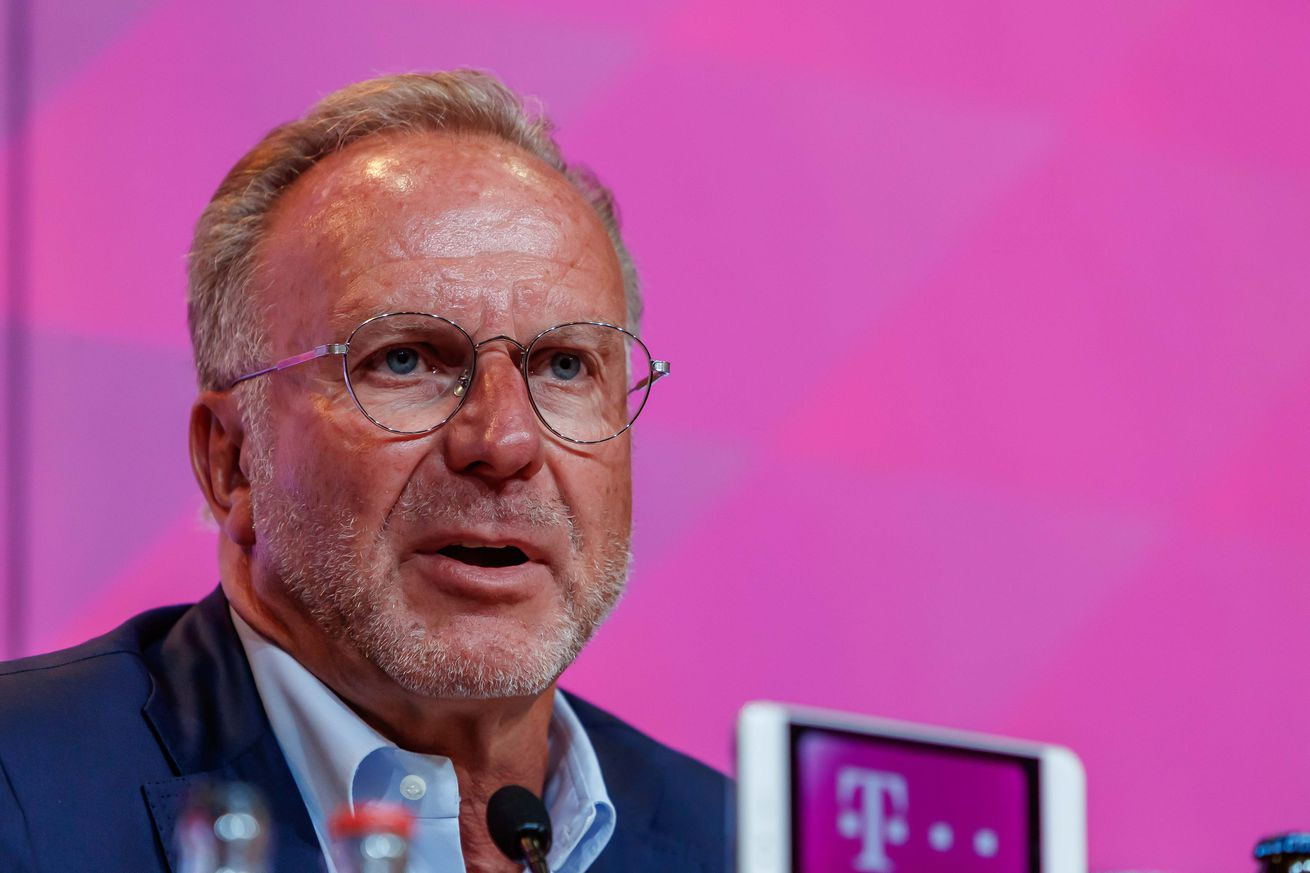 Rummenigge: Bayern Munich waiting for the first transfer domino to fall