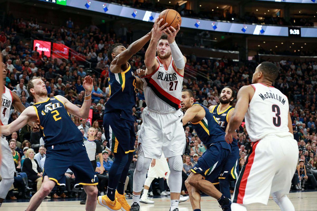 NBA: Portland Trail Blazers at Utah Jazz