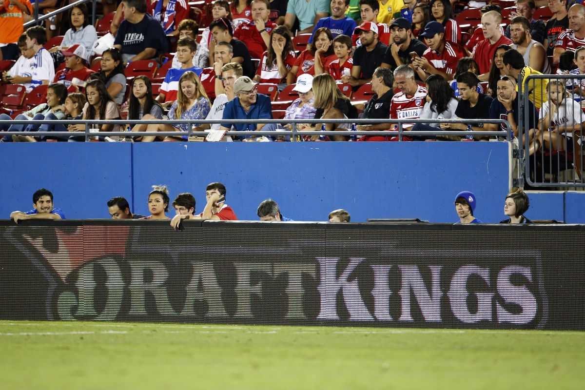 The visibility of MLS' affiliation with DraftKings has grown over the past few months.