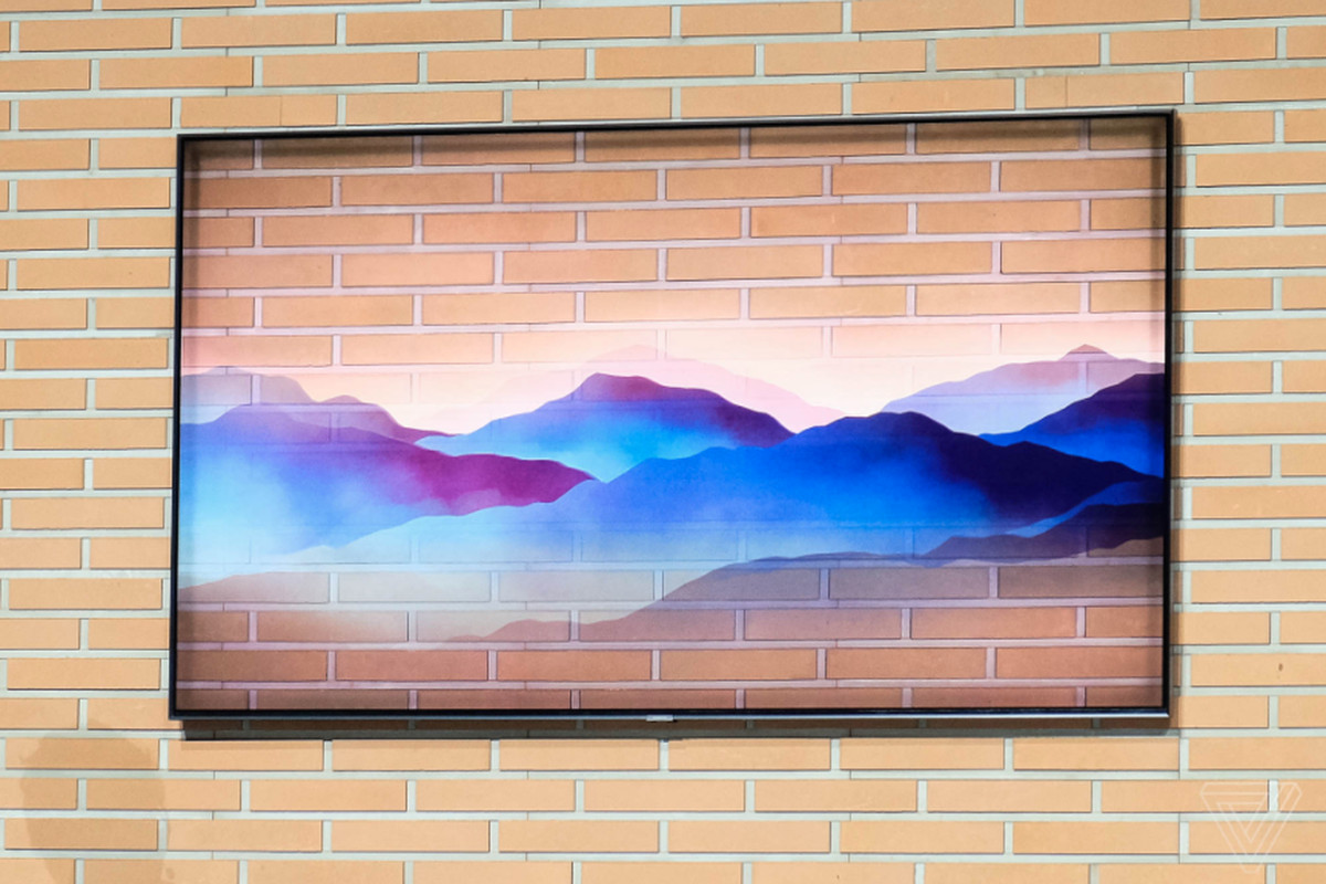 Samsung's 2018 QLED 4K TVs can blend into your wall and control your