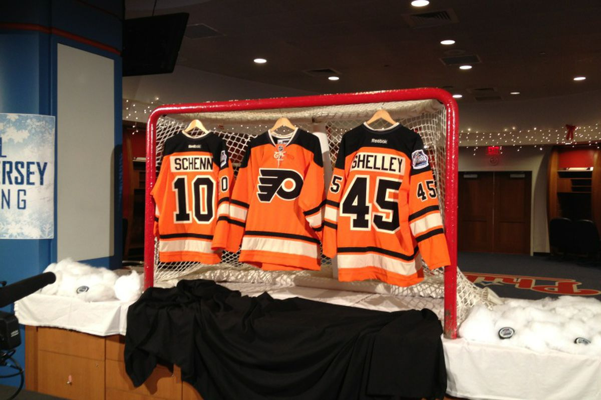 603423752 Philadelphia Flyers Winter Classic Jerseys: Sort of a disappointment ...