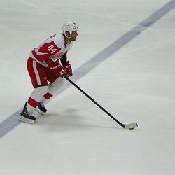 Todd Bertuzzi could play hockey with one hand.