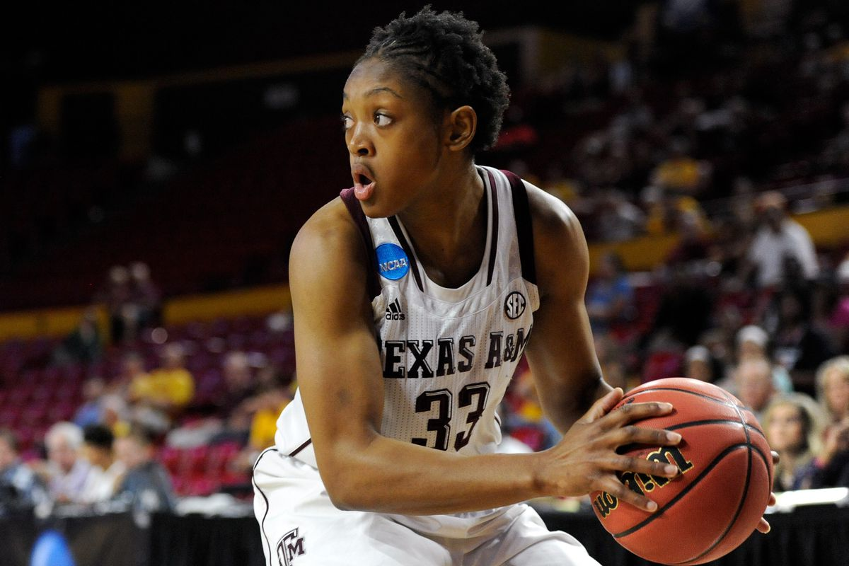 Courtney Walker gave the Ags a career high for Christmas