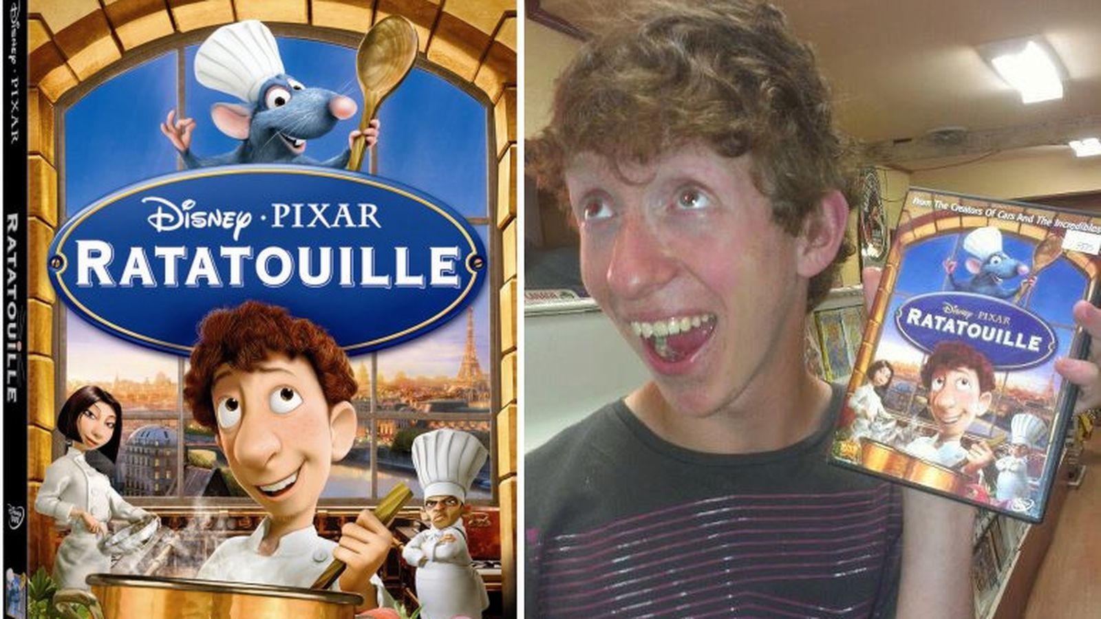 Here Is Ratatouille S Alfredo Linguini In Real Life Eater
