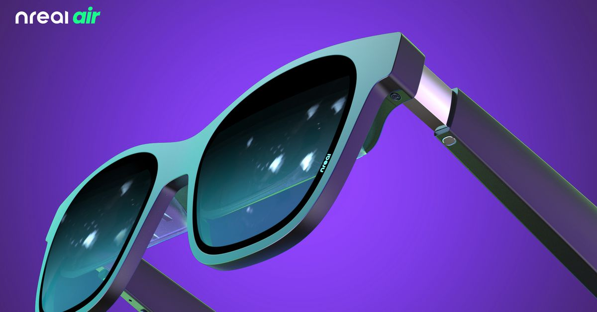 Nreal's new AR sunglasses are made for binge watching TV