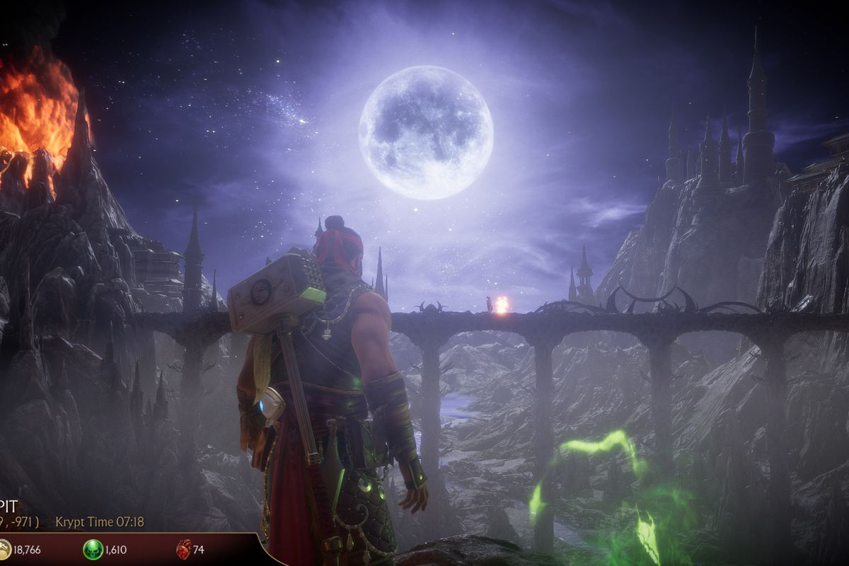 Mortal Kombat 11's Krypt is rad, even if its randomness is a drag