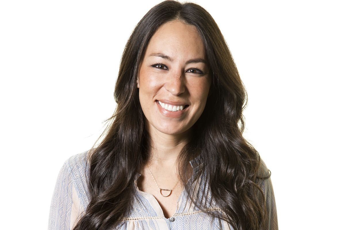 TV personality Joanna Gaines poses for a portrait in New York on March 29, 2016.