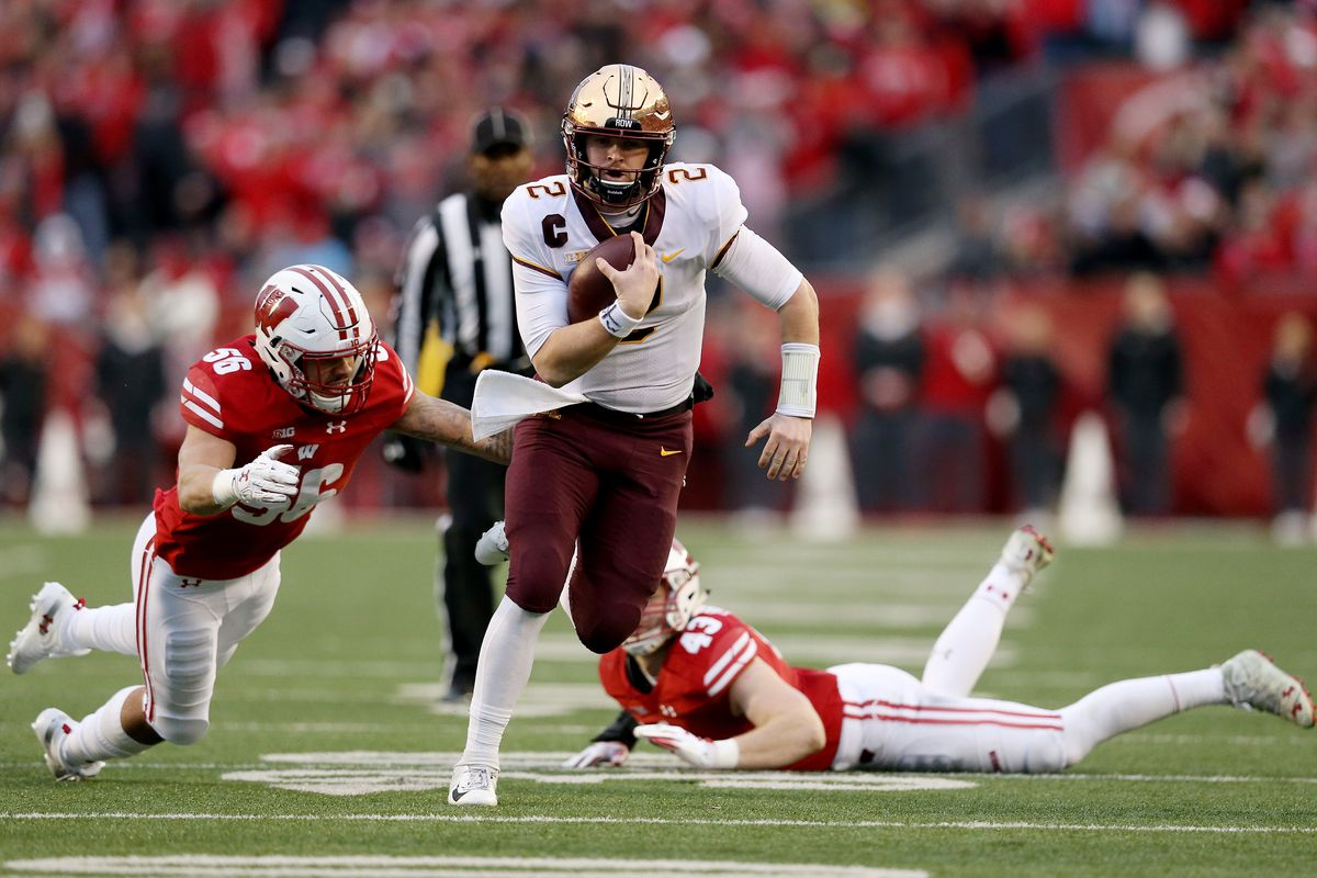 Beyond Pros And Cons Of Redshirting >> Wisconsin Badgers Vs Minnesota Golden Gophers 2018 Football Grades