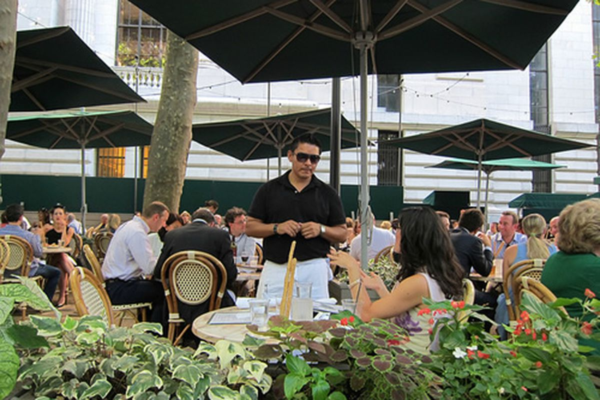 Bryant Park Cafe, NYC
