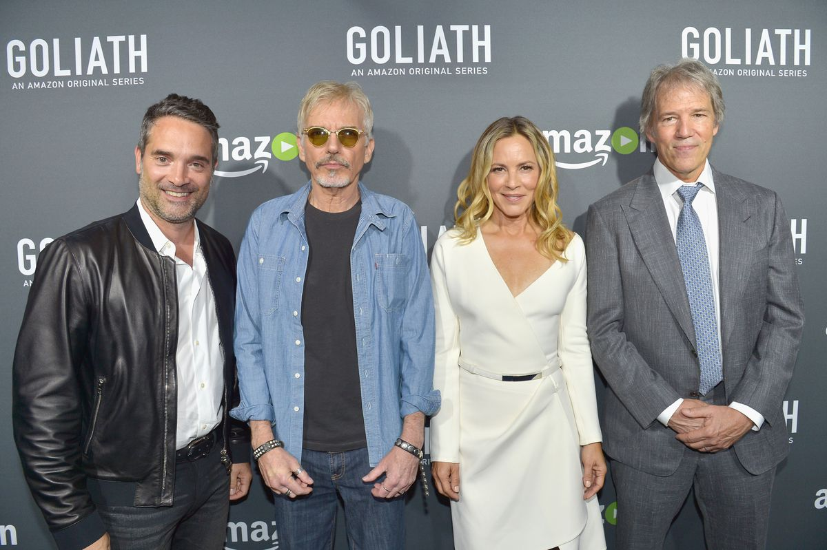 Amazon Red Carpet Premiere Screening Of Original Drama Series 'Goliath' At The London West Hollywood