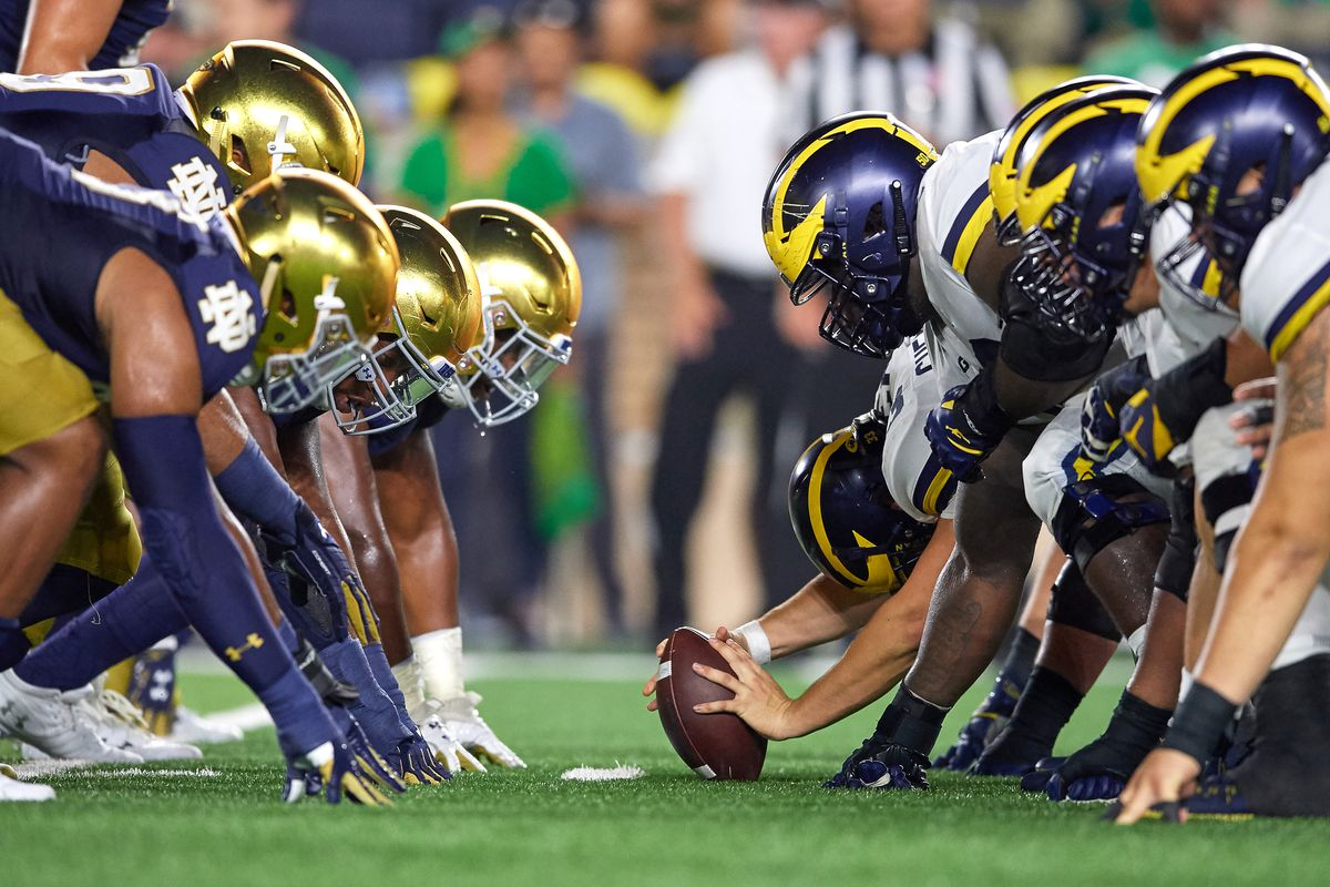 Michigan vs notre dame 2021 betting line 2ghs bitcoins