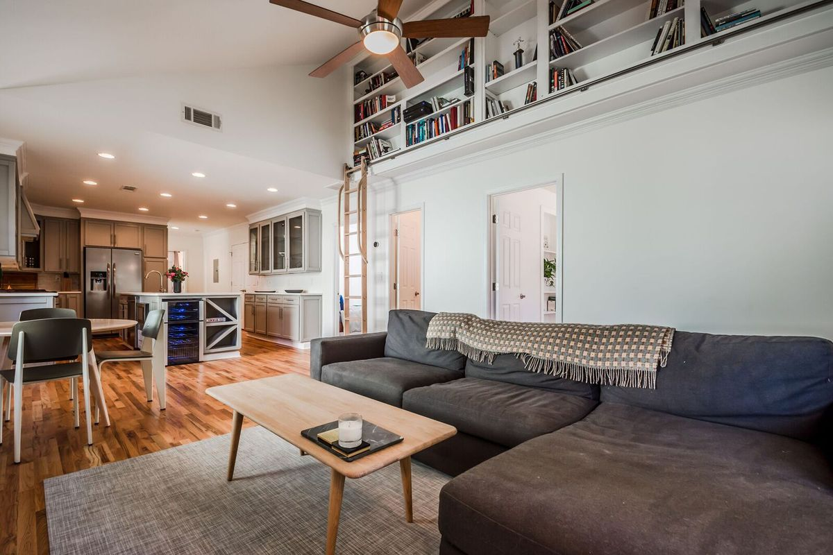 A renovated bungalow in Atlanta's Grant Park neighborhood for sale now.