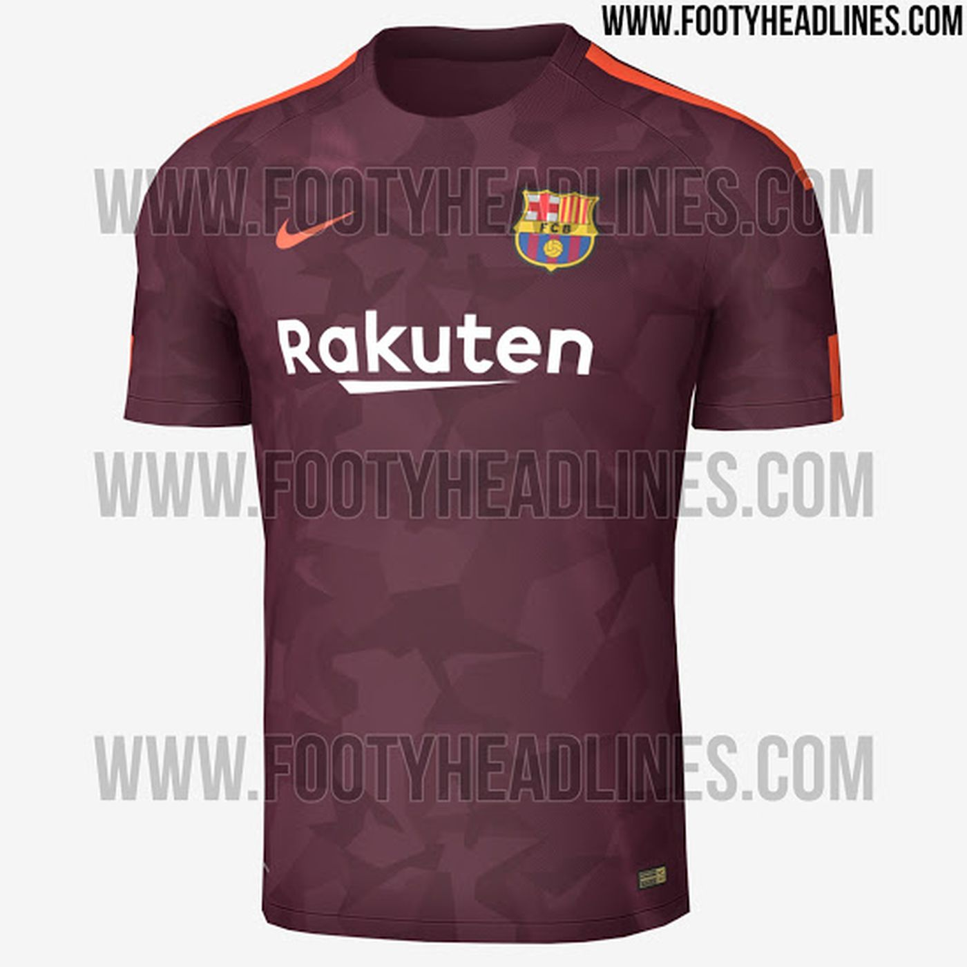 online retailer ec79b 4aa45 Barcelona 2017-18 third kit leaked, and it's absolutely ...