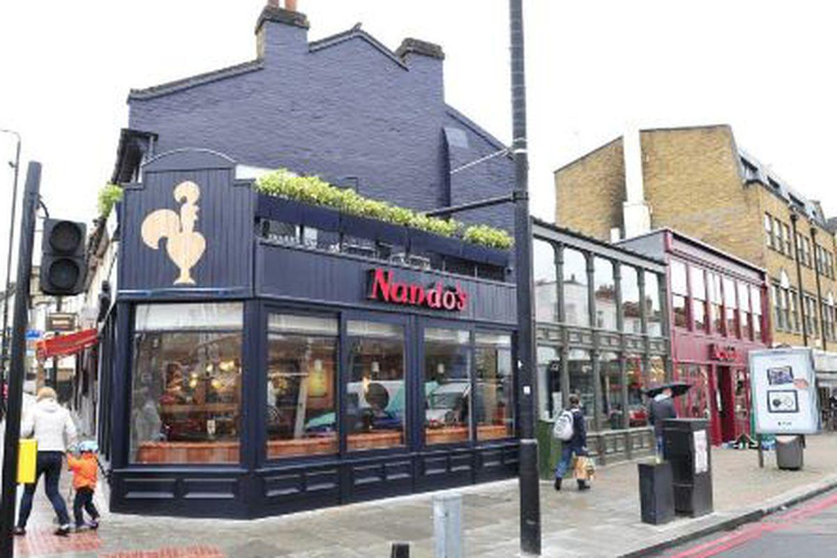 A London location of Nando's.