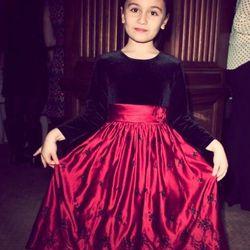 """""""Oh, I know! I'd wear a pretty dress that's colored like a rainbow."""" Amelia Vihon, age 6"""