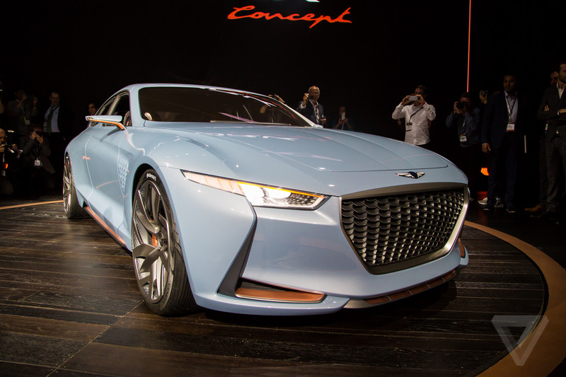 Genesis New York Concept Is A Sports Sedan Thatll Make You Look