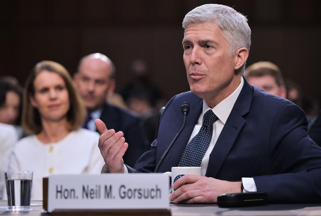 Gorsuch at hearing