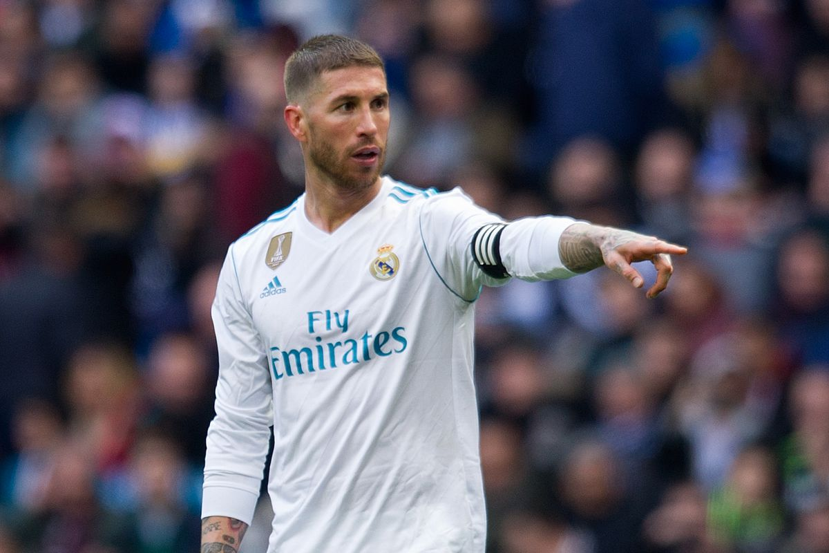 photo by denis doyle getty images real madrid defender sergio ramos