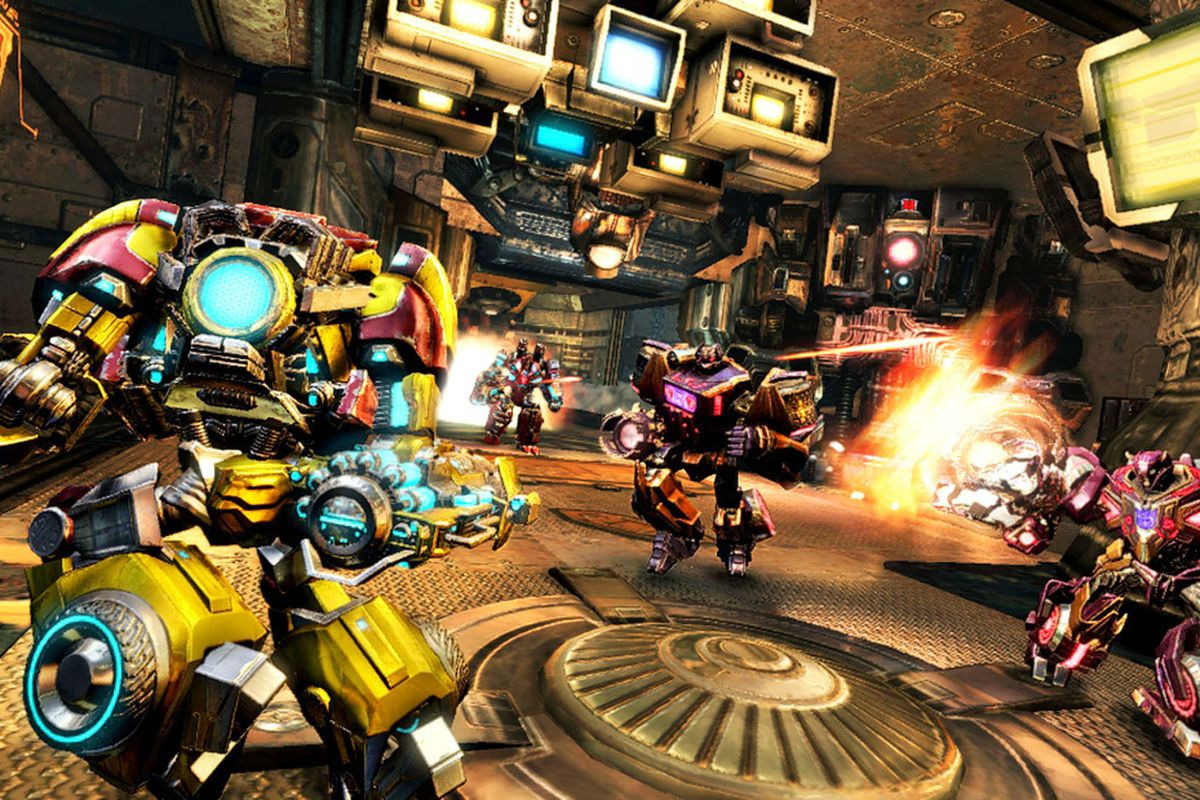 transformers fall of cybertron multiplayer lets you build your own