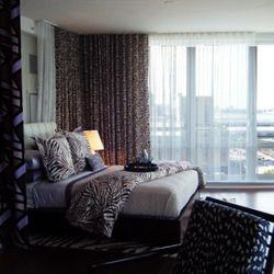 A DVF bedroom