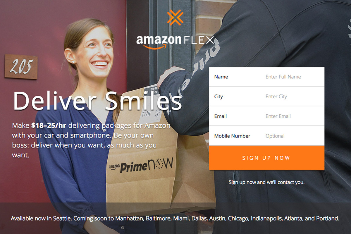 Amazon will now pay you to deliver packages - The Verge