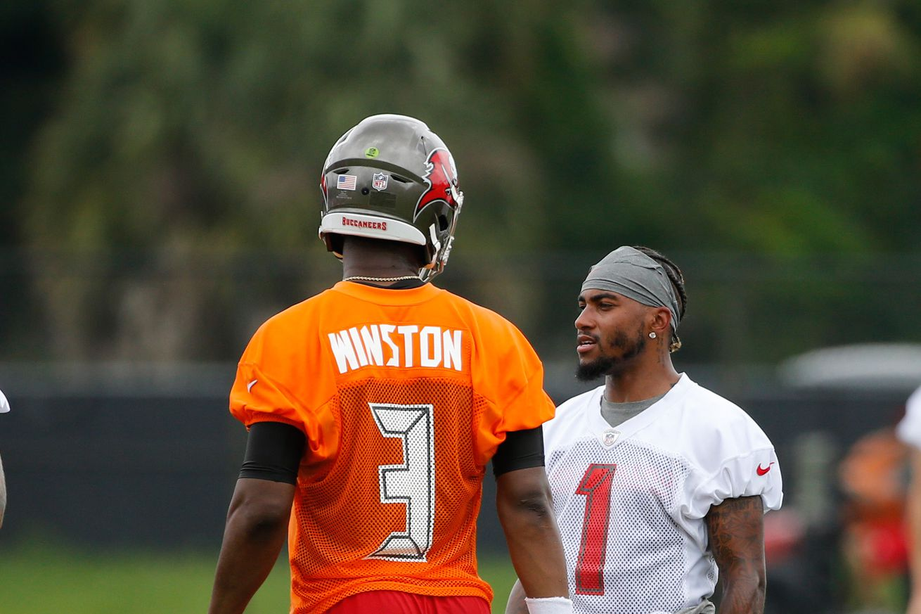 DeSean Jackson says things about Jameis Winston and the Bucs