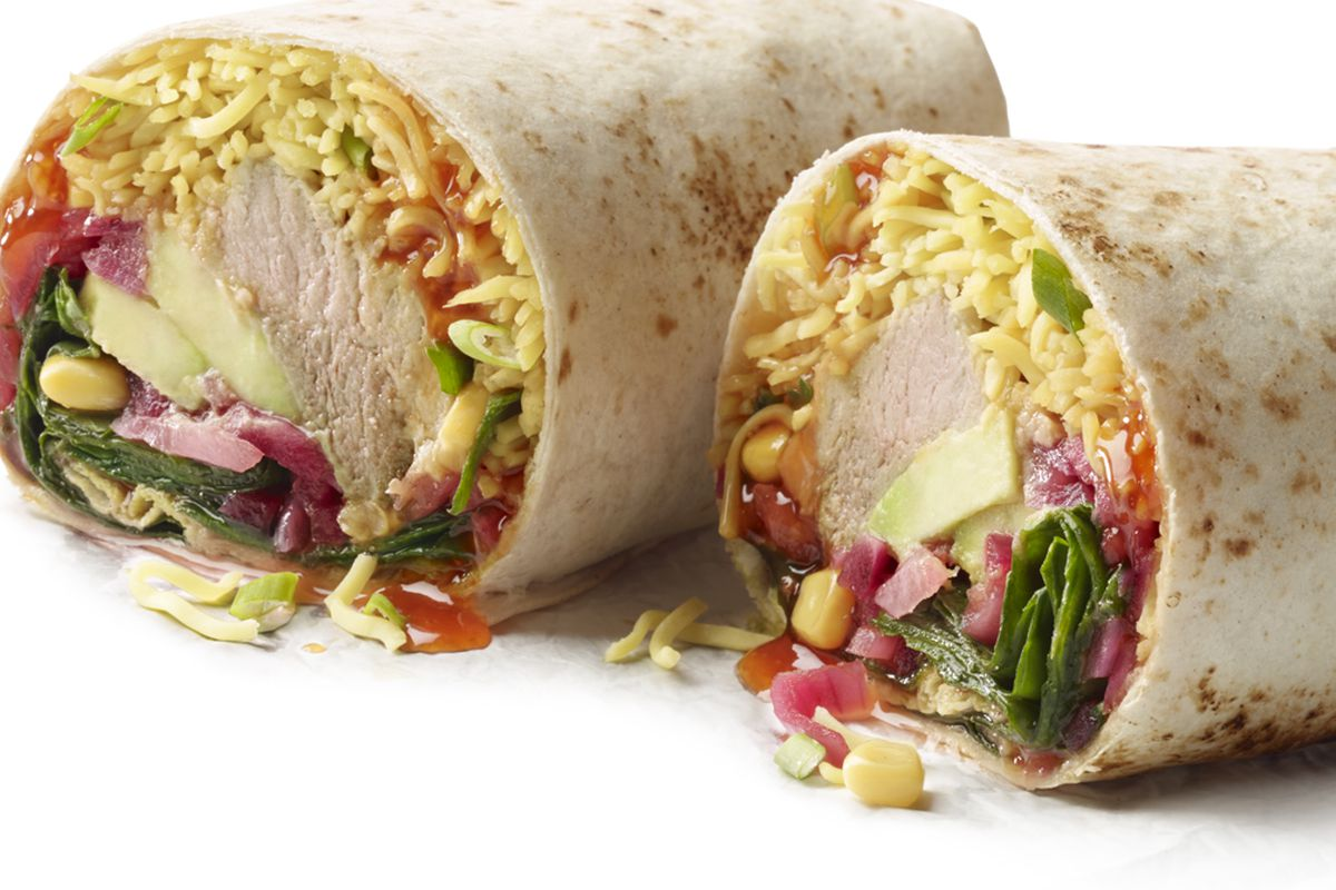 The ramen burrito.