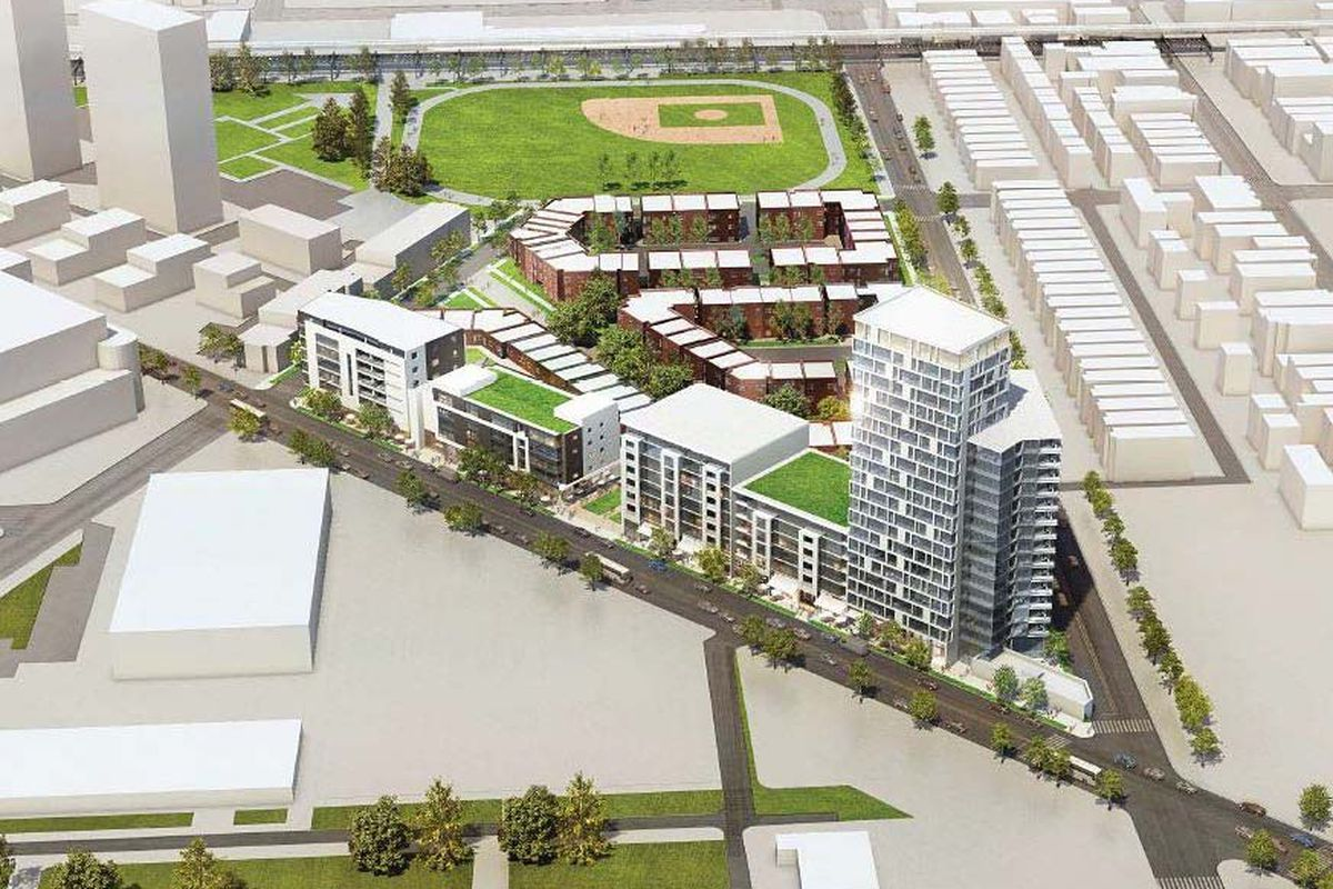First look cabrini green redevelopment plan curbed chicago for Website build project plan