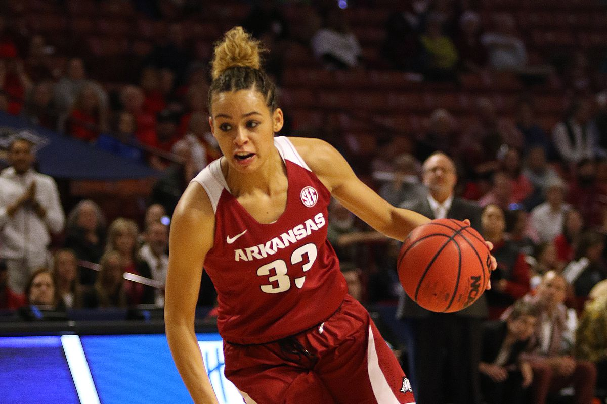 COLLEGE BASKETBALL: MAR 10 SEC Conference Women's Tournament - Arkansas vs Mississippi State