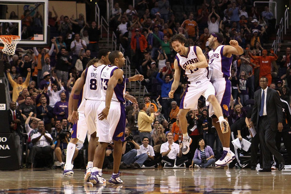 If this is how they celebrate against the T'Wolves, what will they do if they beat the Mavs?