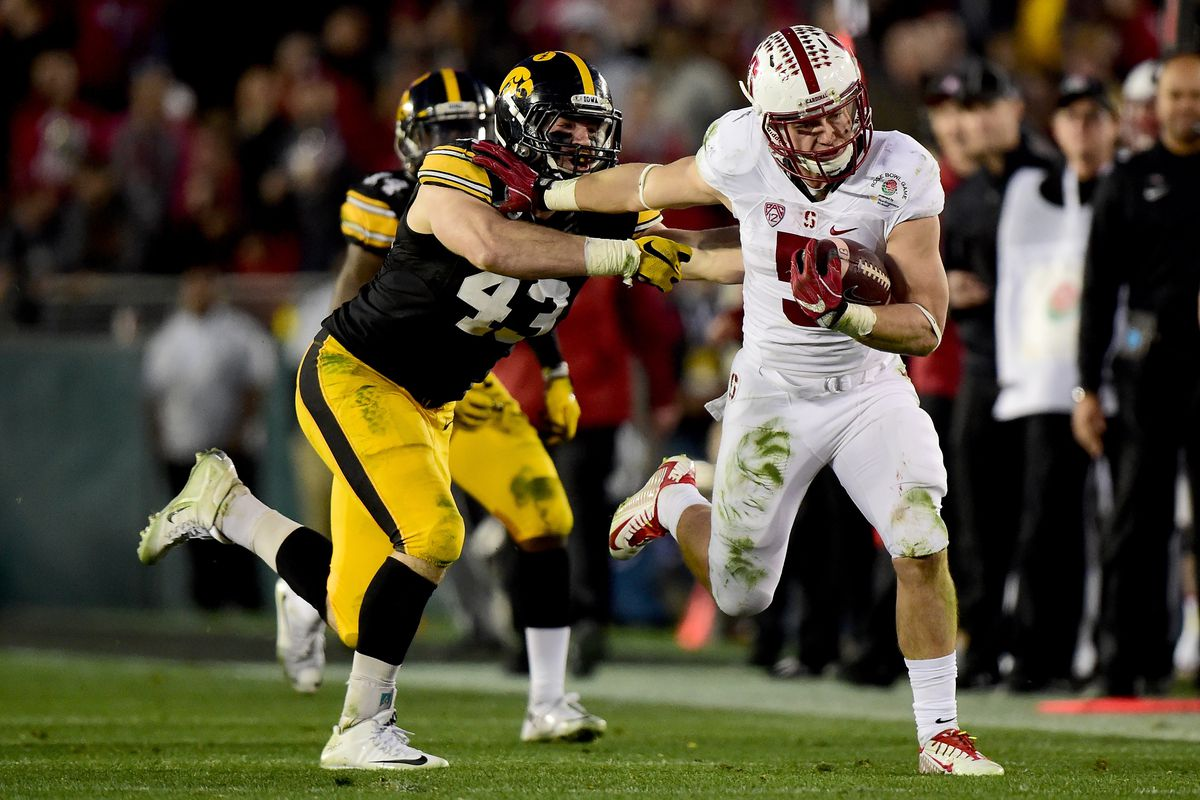 Christian Mccaffrey And The Stanford Cardinal Convincingly Defeat