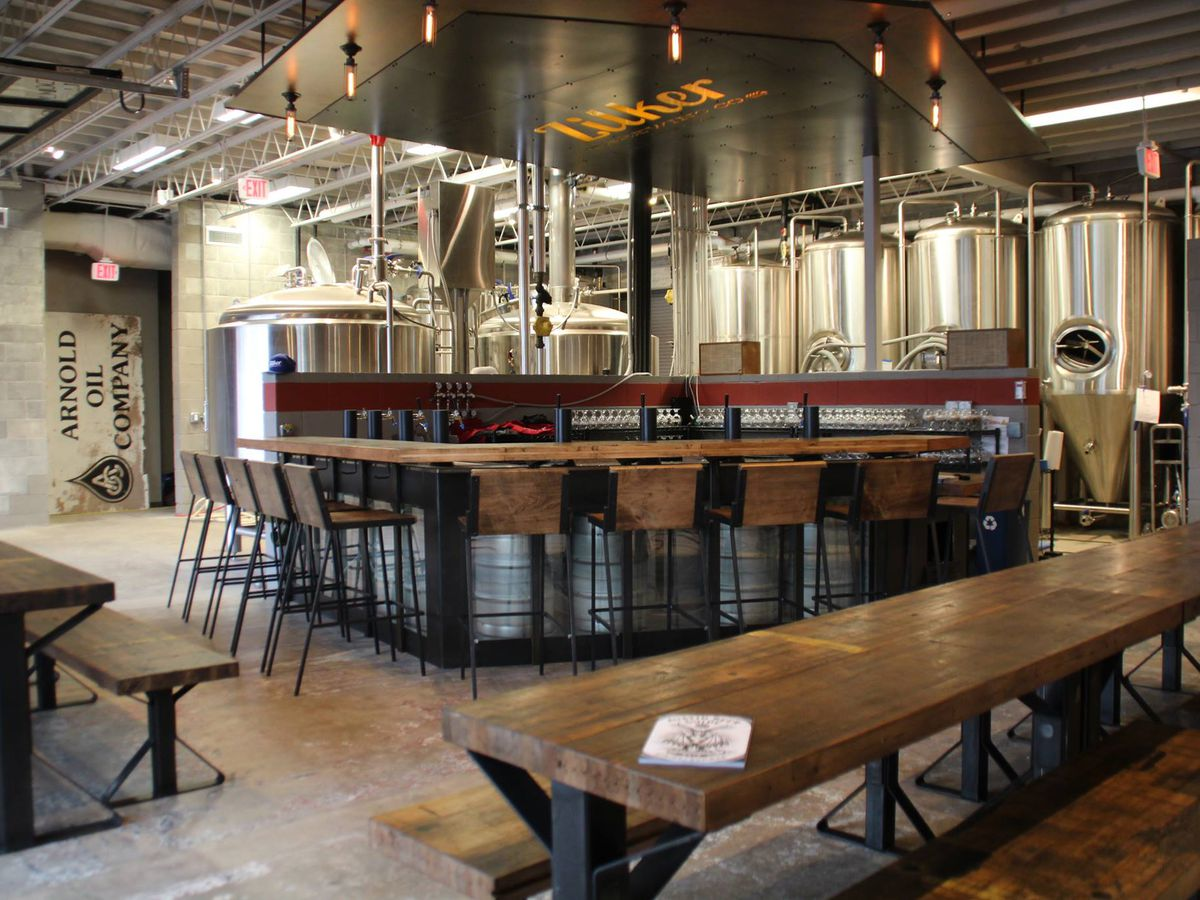 The tasting room Zilker Brewing Co.