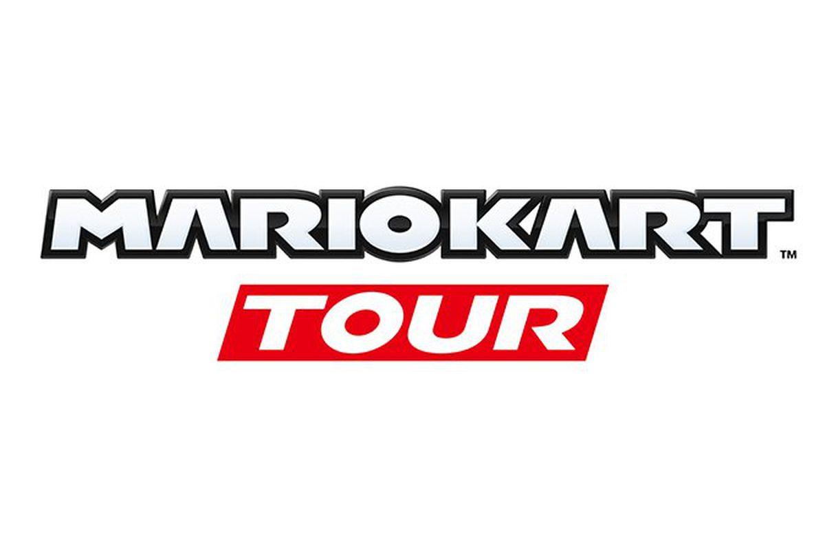 mario kart tour poster