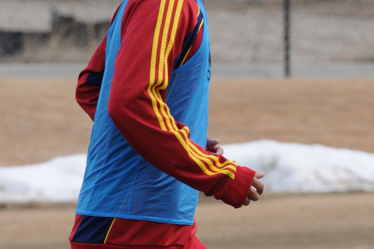 Conor Chinn joins RSL for practice, no contract yet but he looked good.