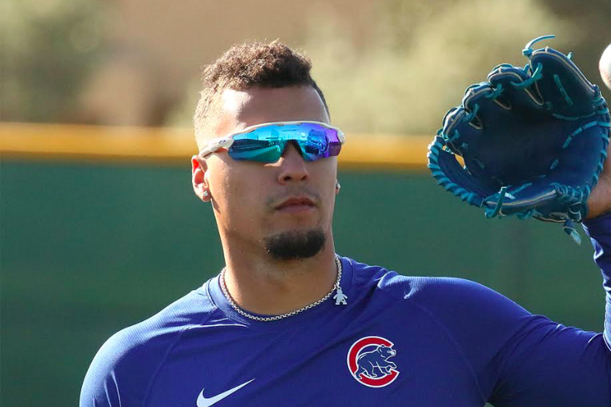 """""""It doesn't have anything to do with mine,"""" the Cubs' Javy Baez said of Christian Yelich's contract extension. """"I'm happy for [Yelich]. Hopefully, we get mine done. We're working on it."""""""