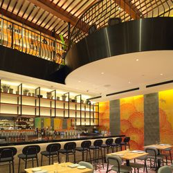 Though the building was built in the 2000s,  Empellon is the first restaurant to occupy this space.