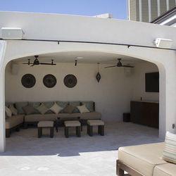 A cabana at Daylight Beach Club.