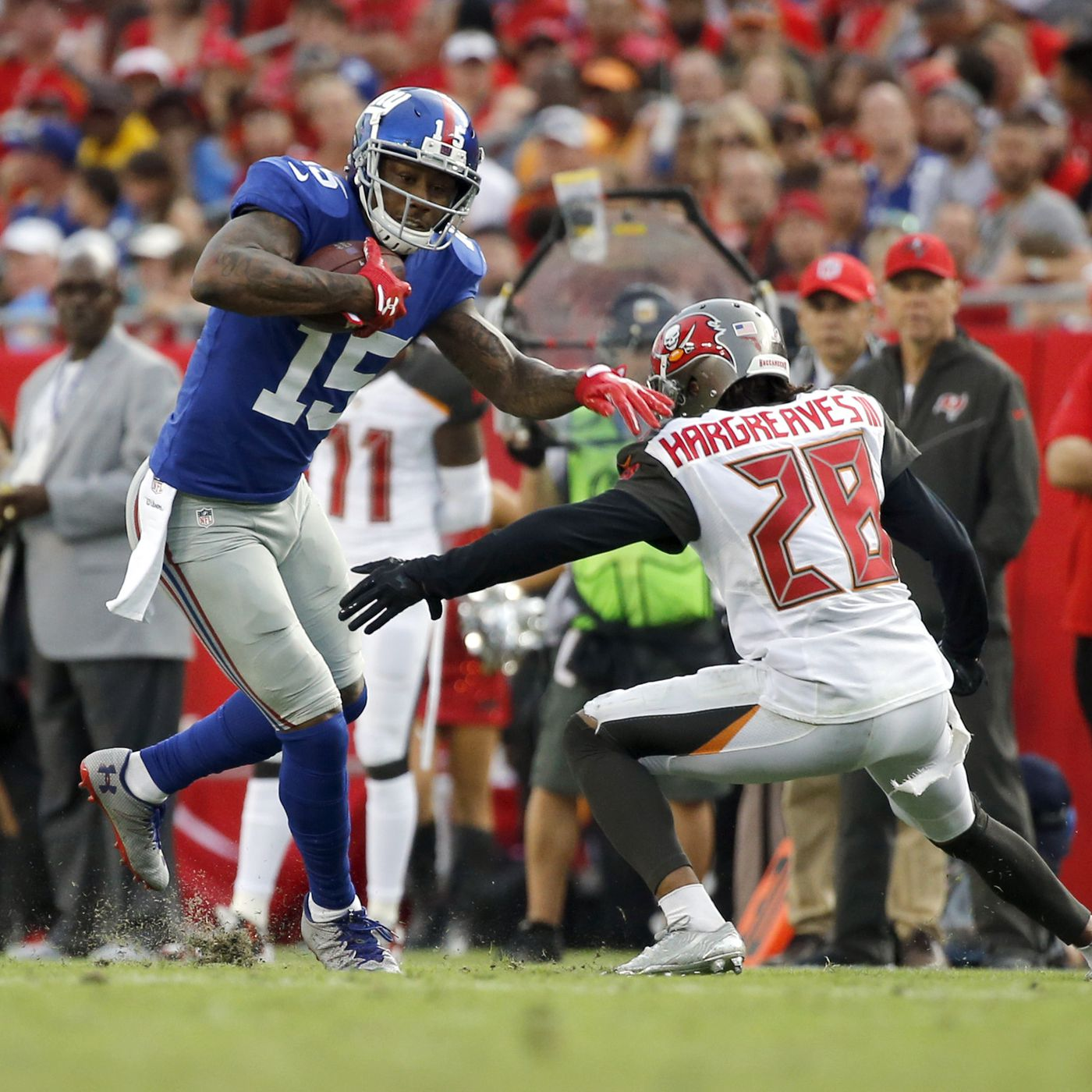 finest selection 0bd53 f4235 Trade Brandon Marshall? ESPN Says Giants Should Consider It ...