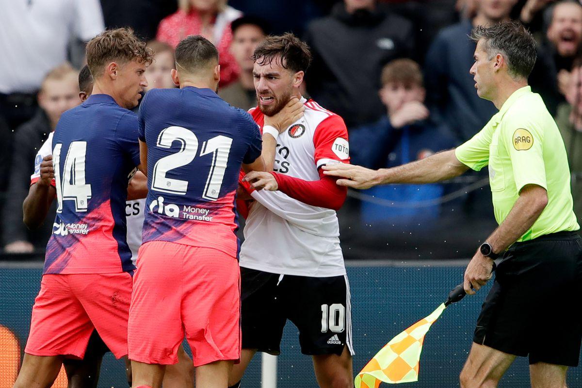 Feyenoord v Atletico Madrid - Club Friendly