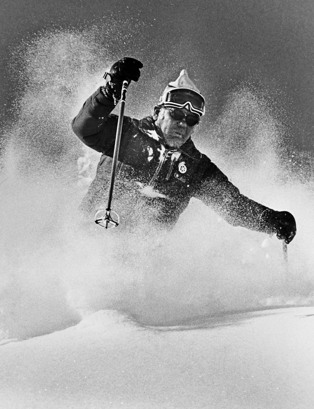 Skiing with Alf Engen.