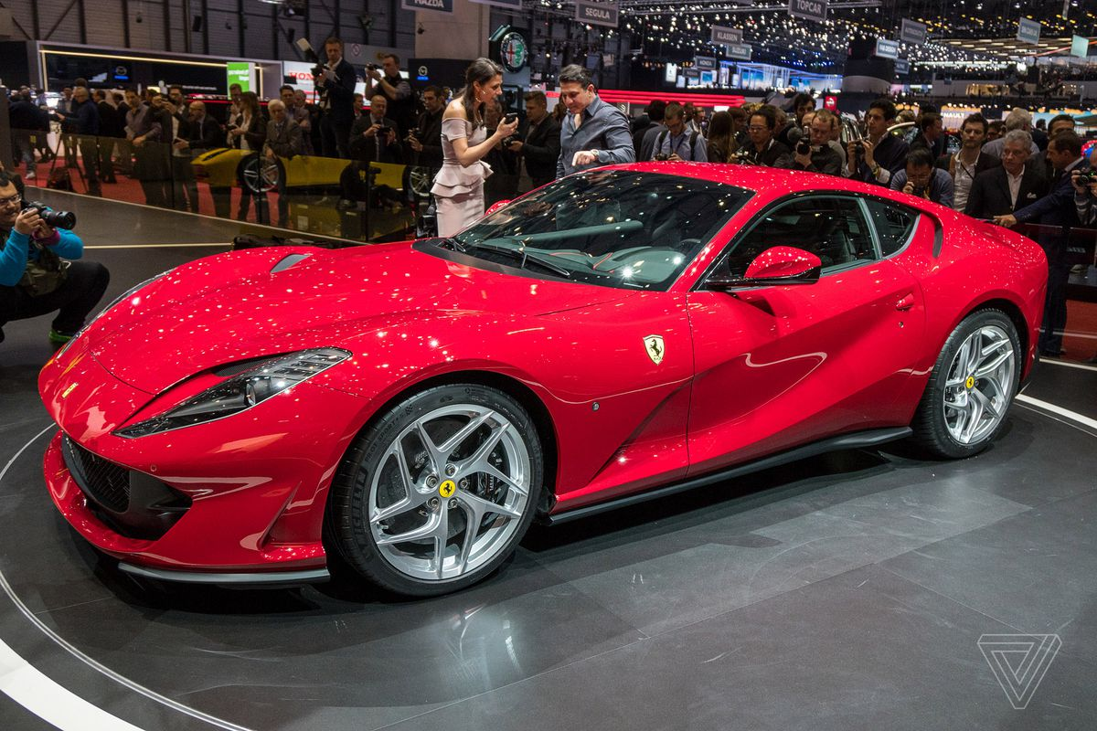 Ferrari 812 Superfast lives up to its name