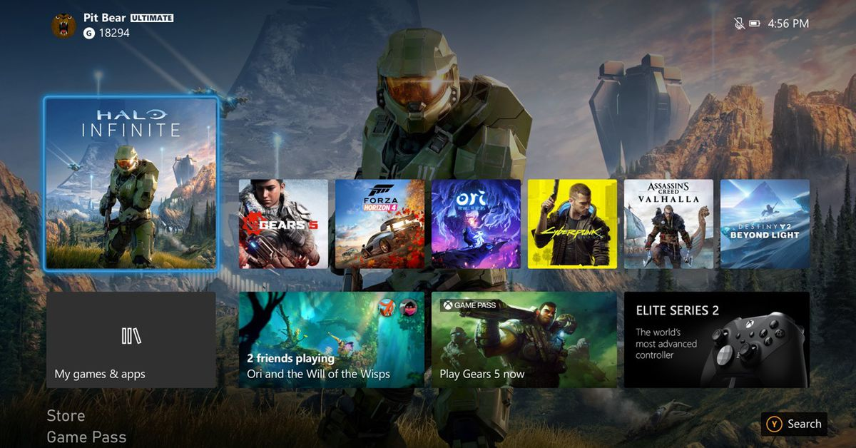 Microsoft's new-look Xbox dashboard is rolling out this week – The Verge