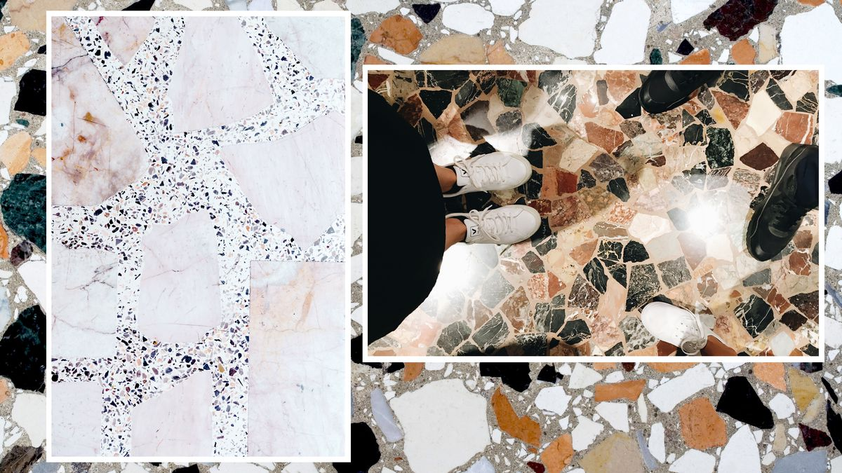 What Is Terrazzo Flooring Curbed