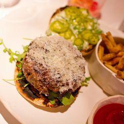 "Akaushi Cheeseburger from ABC Kitchen by <a href=""http://www.flickr.com/photos/jmoranmoya/6291533662/in/pool-eater/"">jmoranmoya</a>."