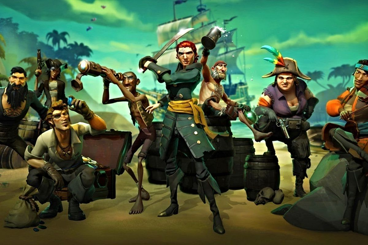 Rare Microsoft Studios The First Pirate Legend In Sea Of Thieves