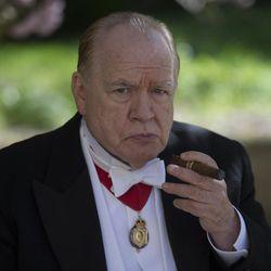 """Brian Cox as Winston Churchill in """"Churchill."""""""