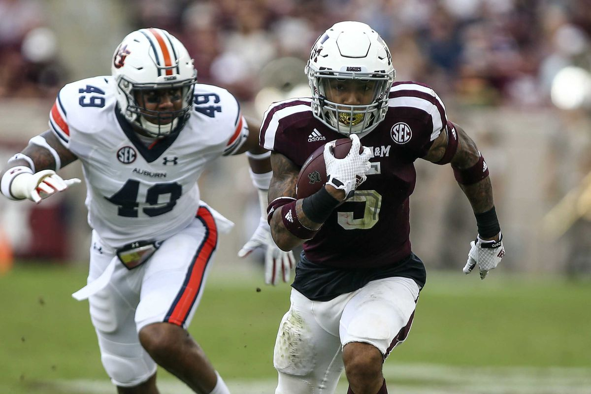 NCAA Football: Auburn at Texas A&M