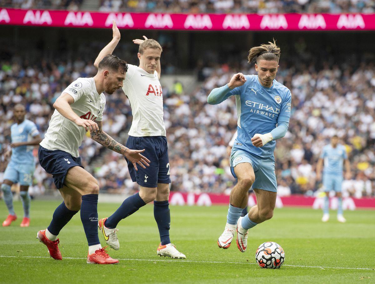 Tottenham, Manchester City, Jack Grealish, Southampton, Saints, Premier League