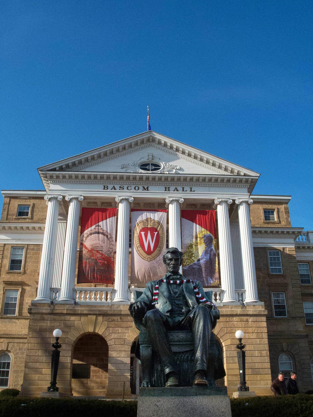 University of Wisconsin, Bascom Hall, Madison, Wisconsin