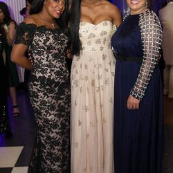 Catrice Armstrong, Jasmine Jordan and Juanita Jordan
